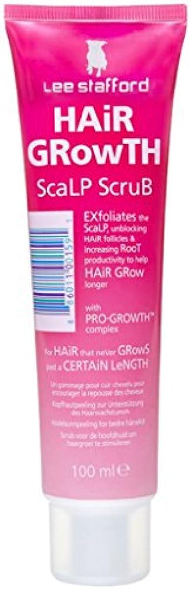 黒姿勢スクラップブックプロ成長の複合体100mlが付いているリーStaffordの毛の成長の頭皮の剥離のスクラブ