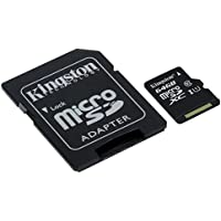 キングストン Kingston microSDXCカード 64GB クラス 10 UHS-I 対応 アダプタ付 Canvas Select SDCS/64GB 永久保証