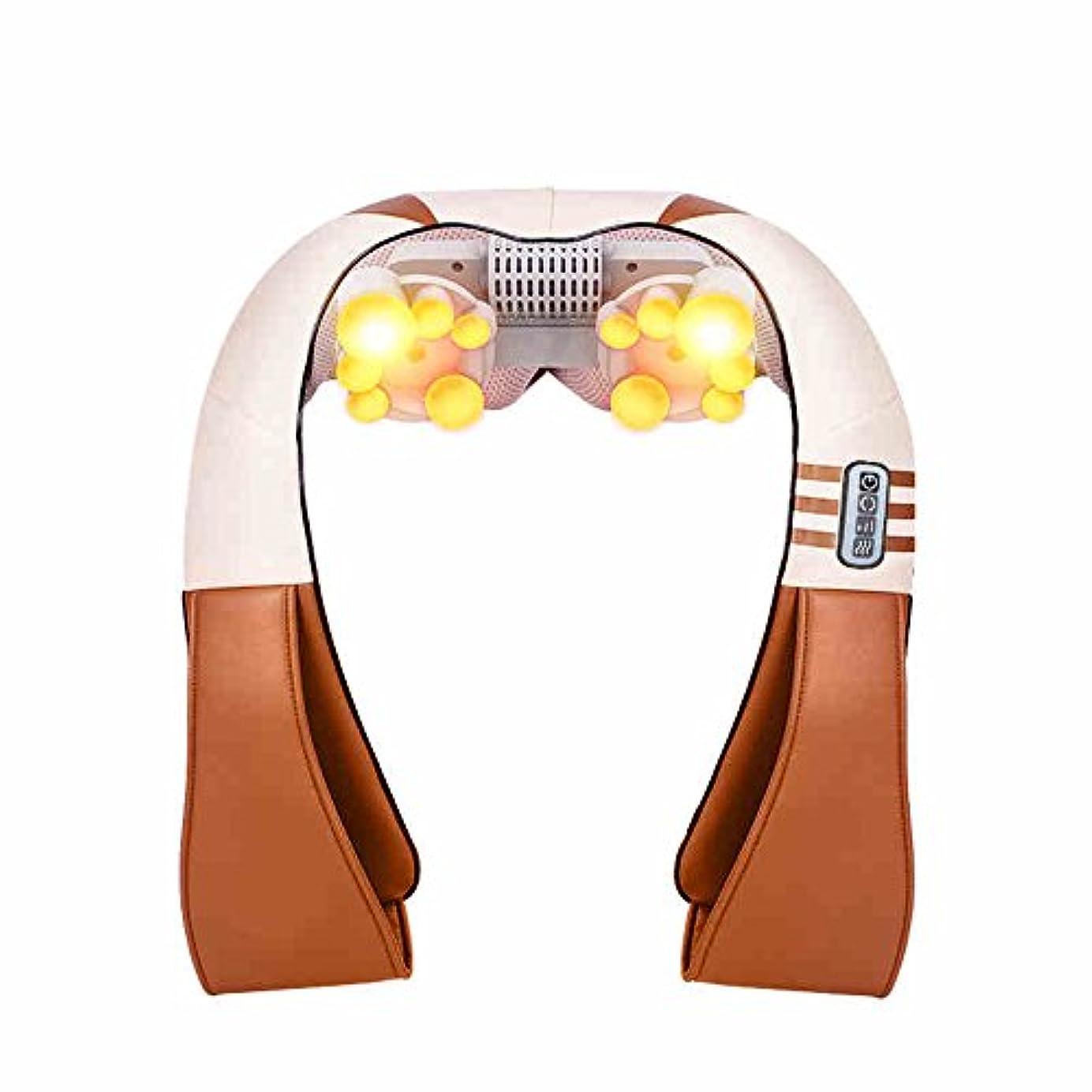 アカデミックの量叫び声HAIZHEN マッサージチェア フルボディマッサージ器の電気運動振動指圧の混乱指圧リウマチの痛みを和らげる頭の血液循環を促進する