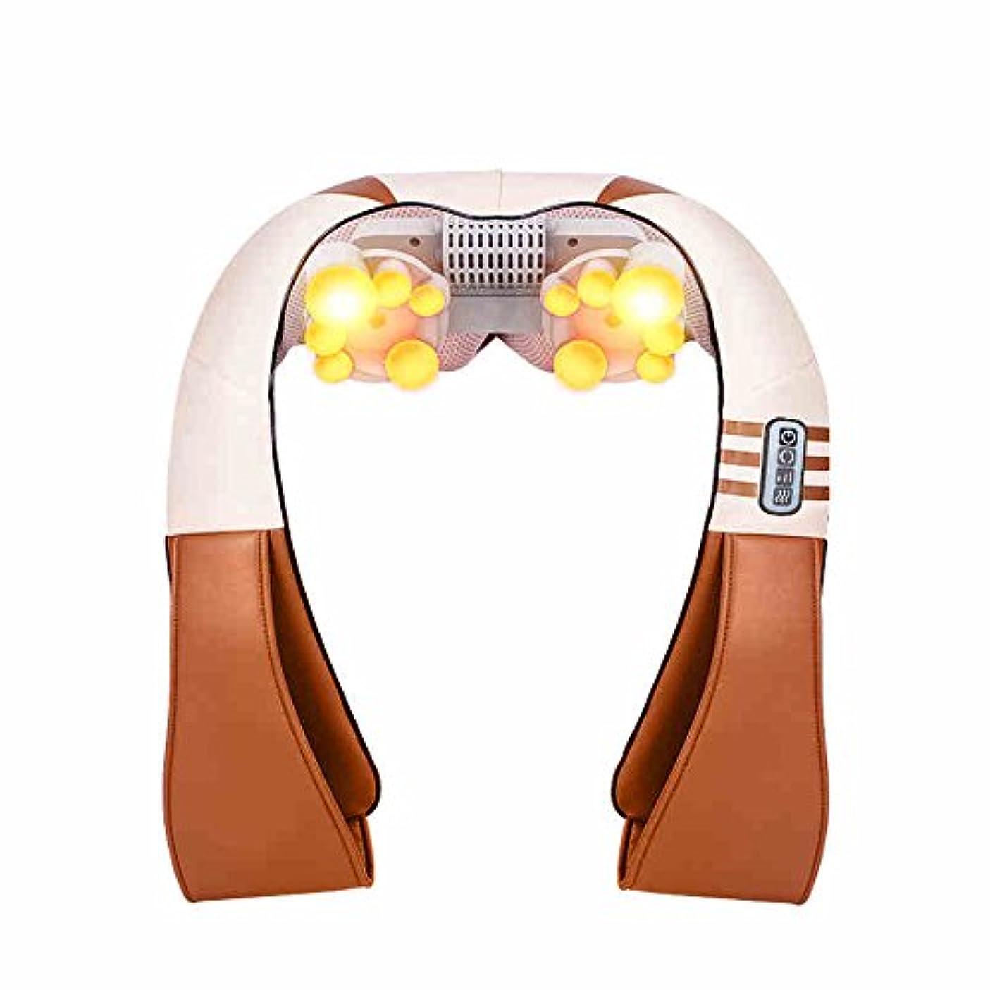 バルコニー毎日段落HAIZHEN マッサージチェア フルボディマッサージ器の電気運動振動指圧の混乱指圧リウマチの痛みを和らげる頭の血液循環を促進する