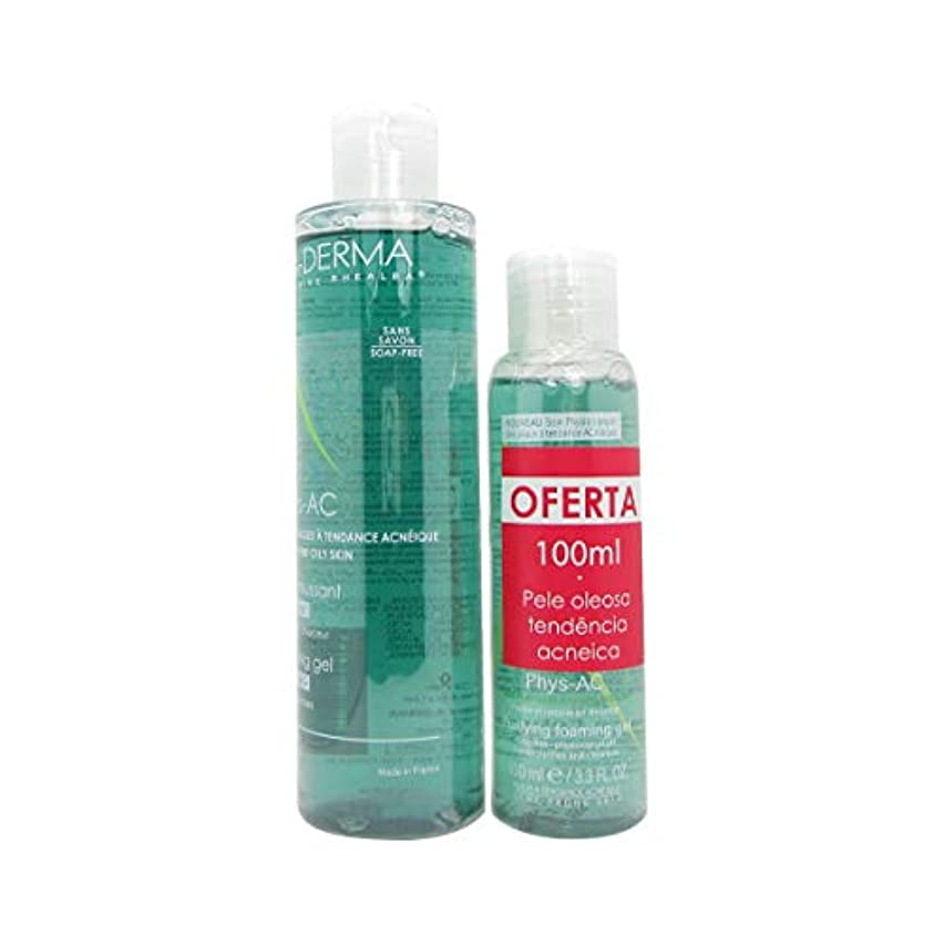 複合農村拮抗するA-Derma Phys-Ac Purifying Foaming Gel 200ml + 100ml