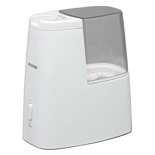 アイリスオーヤマ 卓上加湿器 加熱式 アロマ対応 クリア(~洋室3畳まで) SHM-120D-C