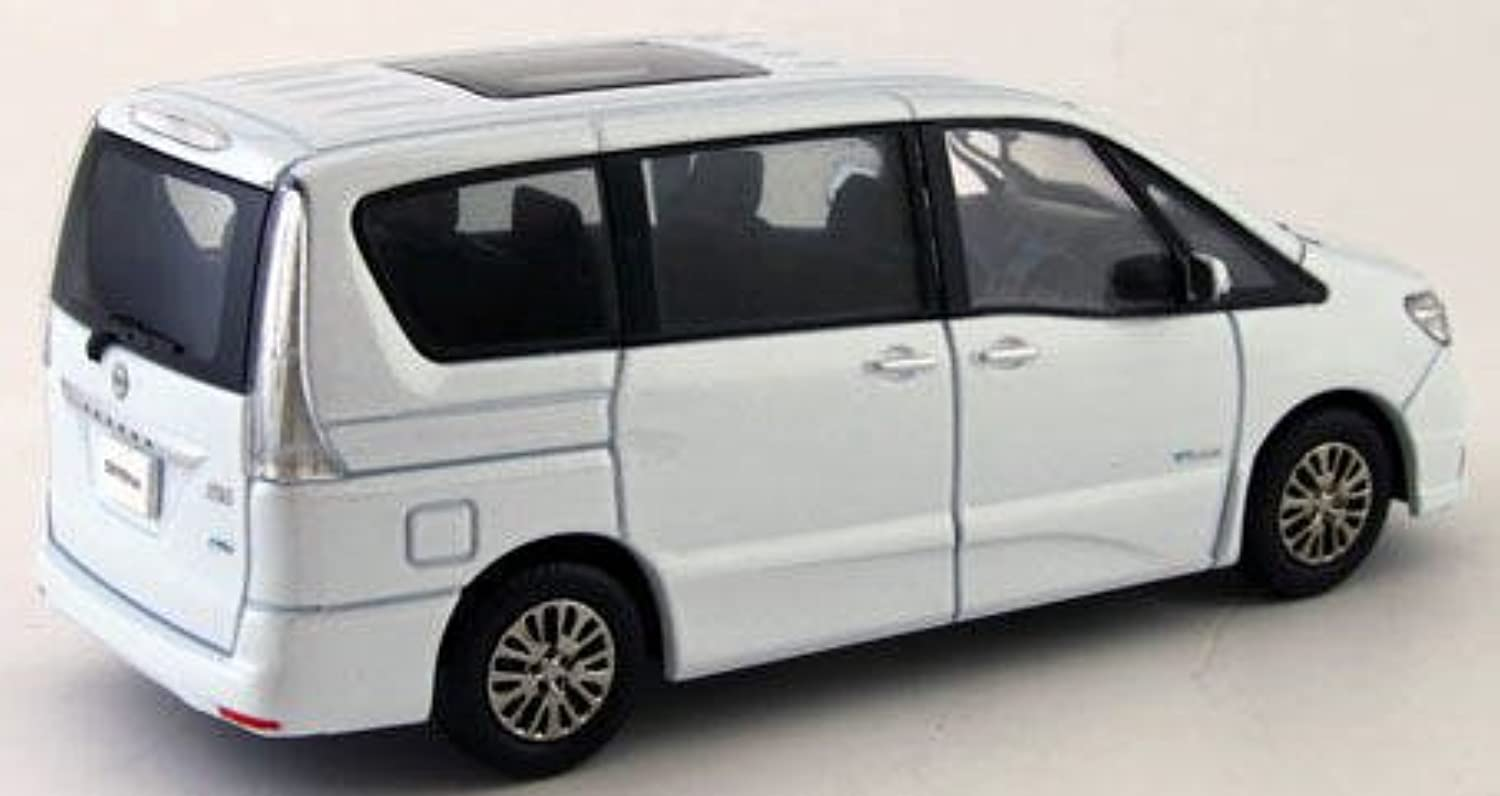 1/43scale 京商 Kyosho Nissan Serena Highway STAR G 2014 Blue Moon White 日産 セレナ