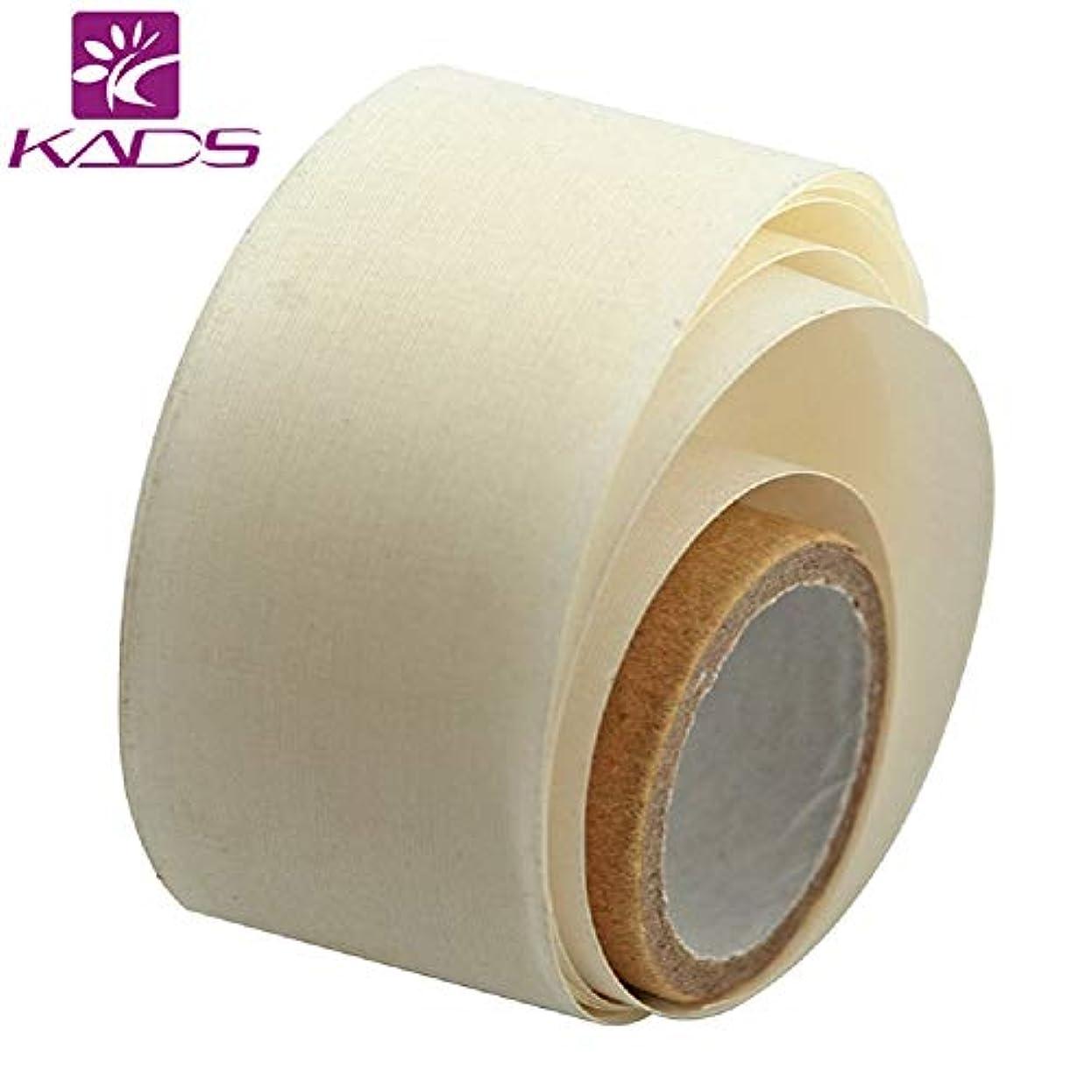 ジム棚偽KADS ネイルシルクテープ ネイルリペアテープペラ用 爪の補修 ジェルアクリルネイルアートツール(サイズ3)