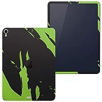 igsticker iPad Pro 11 inch インチ 対応 apple iPad Pro11 シール アップル アイパッド A1934 A1979 A1980 A2013 iPadPro11 全面スキンシール フル 背面 側面 正面 液晶 タブレットケース ステッカー タブレット 保護シール 人気 黄緑 きみどり インク ペンキ 007421