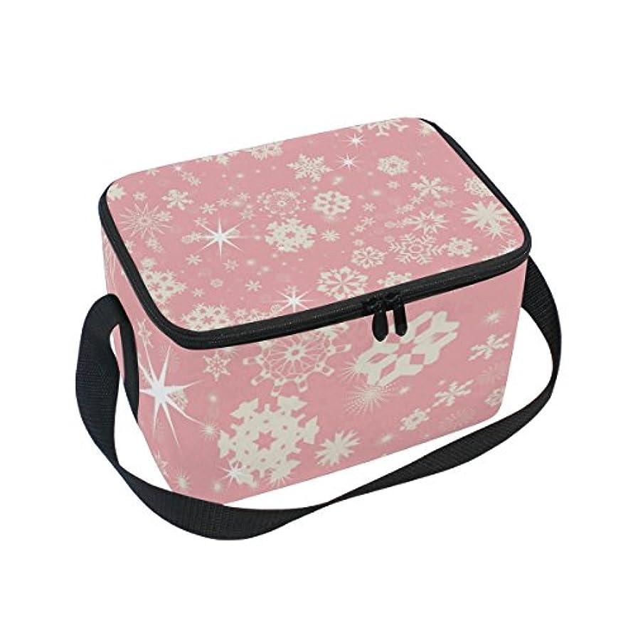 観光に行く争うムスタチオクーラーバッグ クーラーボックス ソフトクーラ 冷蔵ボックス キャンプ用品 ピンクの雪 保冷保温 大容量 肩掛け お花見 アウトドア