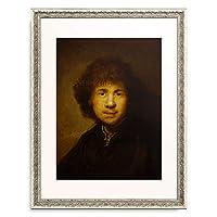 レンブラント・ファン・レイン Rembrandt Harmenszoon van Rijn 「Self-portrait」 額装アート作品