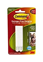 (6) - 3M Command Narrow Picture Hanging Strips 4 pairs 17207 (6)