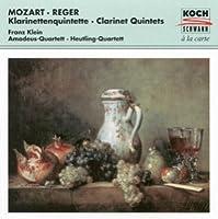 Mozart;Clarinet Quintets