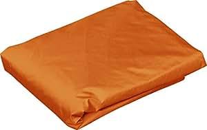 FIELDOOR タープテント 3.0m×3.0m 専用サイドシート(横幕) ウォールジップタイプ (オレンジ) スチール製・アルミ製共通(G3モデル) 「タープテントオプション」