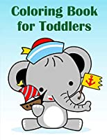 Coloring Book For Toddlers: Christmas Coloring Pages for Boys, Girls,Toddlers Fun Early Learning (Animals Cartoon)