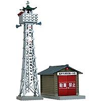 情景コレクション 情景小物046-2 火の見櫓 消防団車庫2 ジオラマ用品