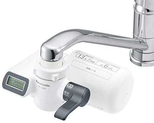 パナソニック 浄水器 蛇口直結型 メタリックグレー TK-CJ23-H