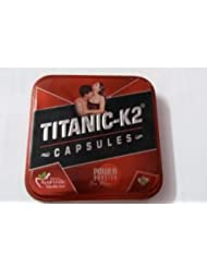 Herbal Titanic K2 6 Caps. pack power booster sex drive for men blend of herbs 男性のためのパックパワーブースターセックスドライブハーブのブレンド