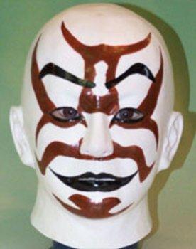 歌舞伎面(代赭隈)