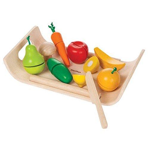 木のおもちゃ 詰め合わせフルーツアンドベジタブル