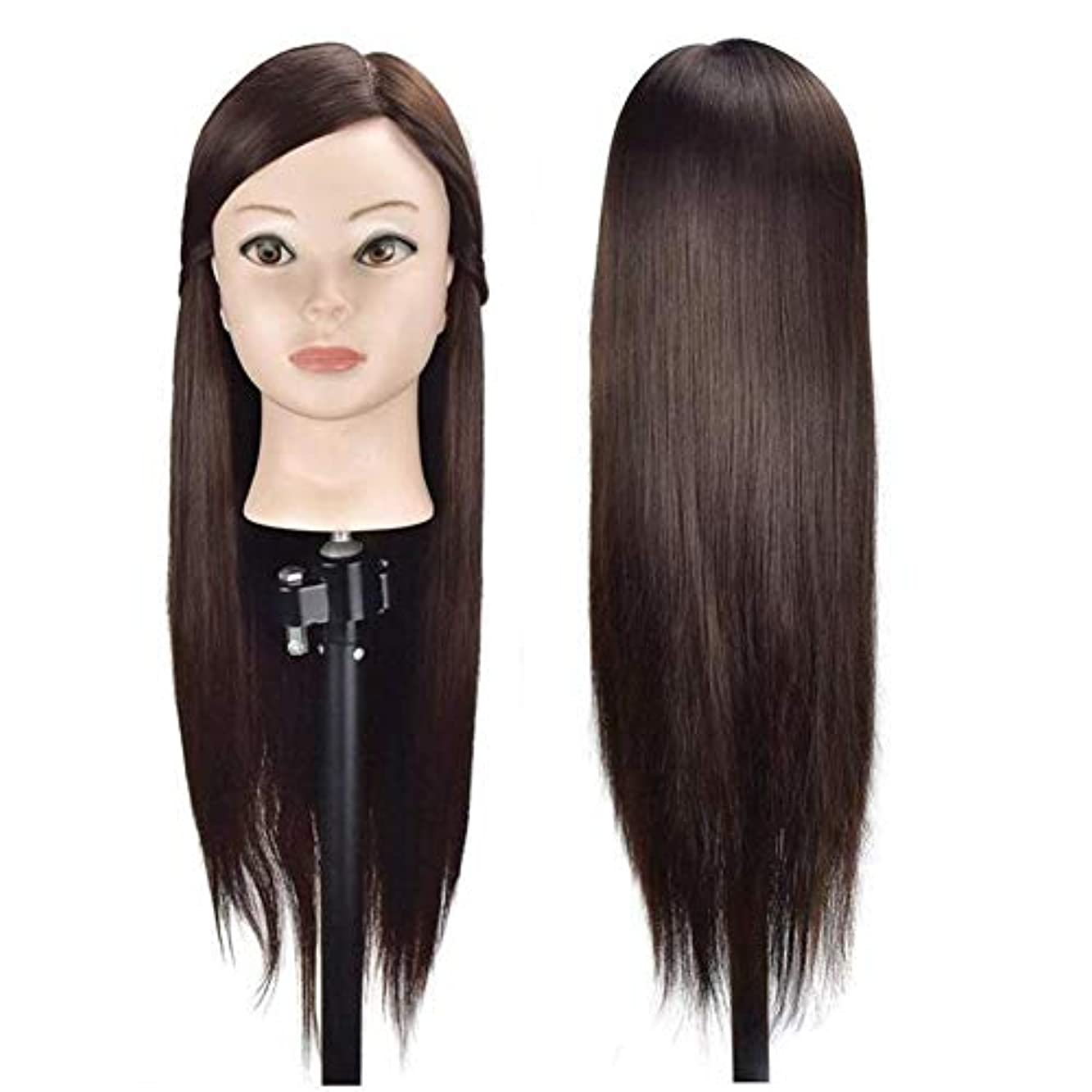 レガシー油裏切り練習用 編み込み練習用 ウィッグマネキンヘッド ヘアアクセサリーセット 美容室サロン 100%合成髪