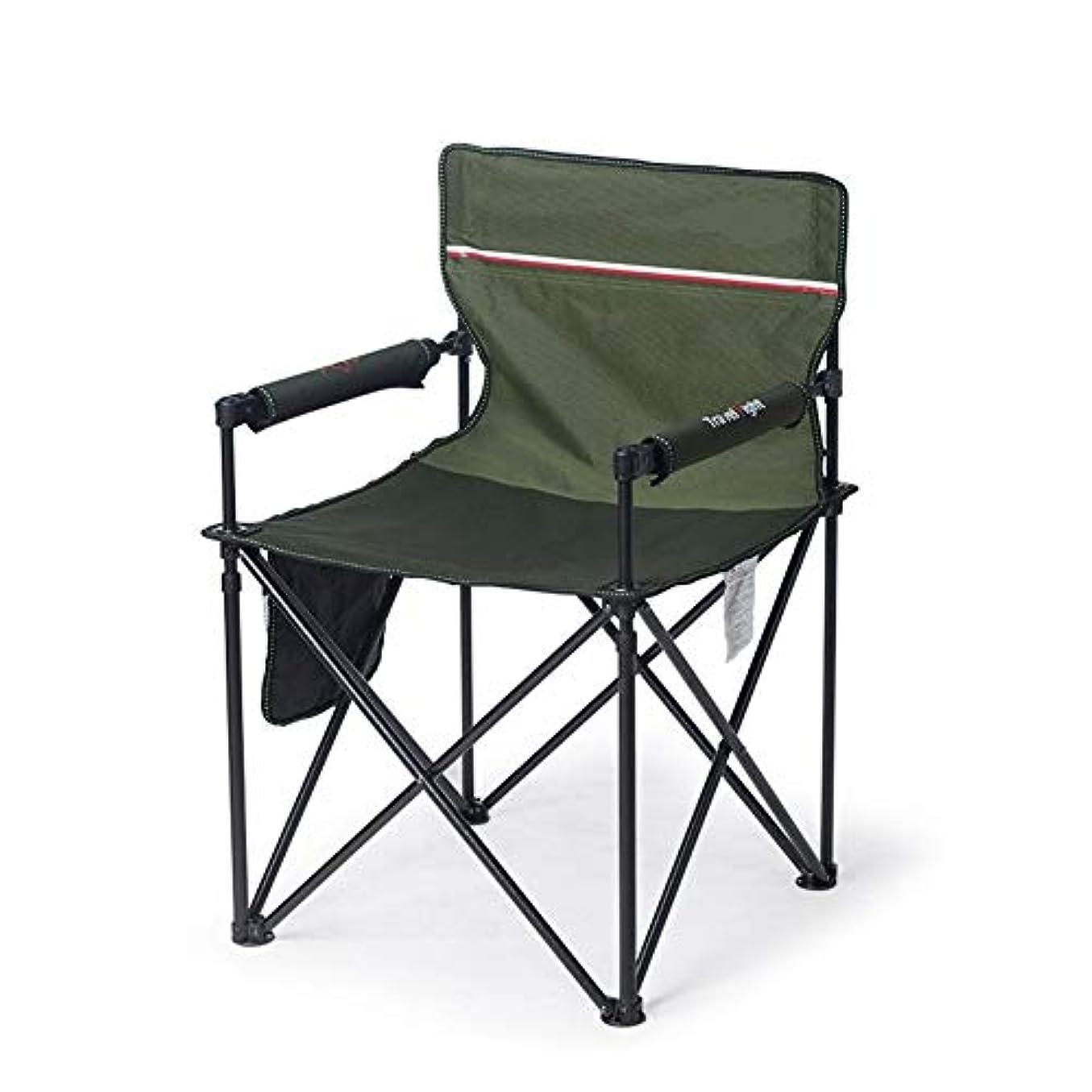 先史時代の優雅滅びるアウトドアチェア キャンプチェア、余暇パッド入り折りたたみキャンプチェア、野外活動のためのシートスツール/キャンプ/バーベキュー/ビーチ/バックパッキング