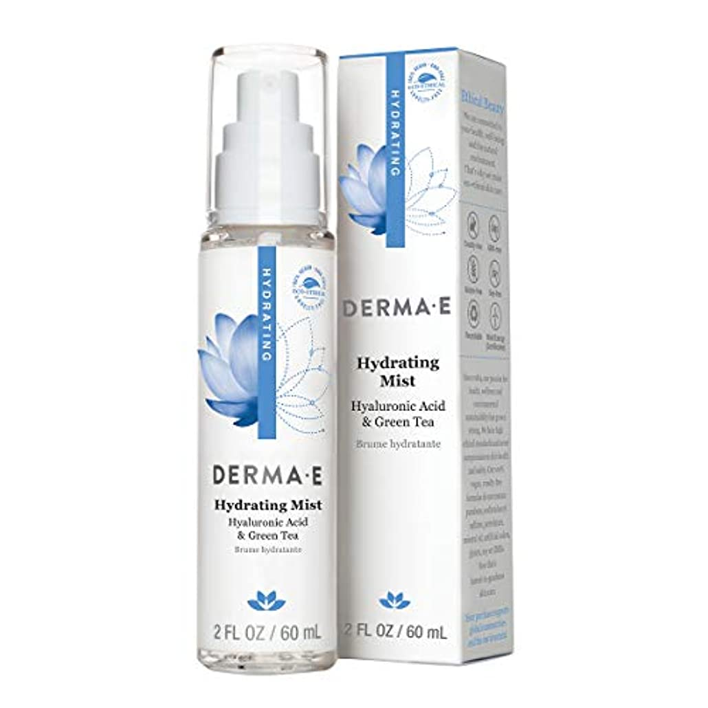 第三誘導意義Derma E Hydrating Mist 60ml/2oz並行輸入品