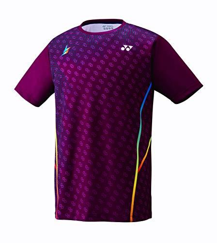 5a54c5288e72 [ヨネックス] メンズ テニス ドライ Tシャツ ワイン 16393Y 021 Largeの画像