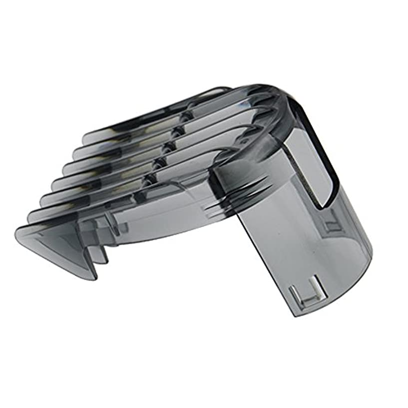 クランプ簡潔な検索エンジンマーケティング電動バリカン 交換部品 適用 フィリップス バリカン QC5510 QC5530 QC5550 QC5560 QC5570 QC5580のための3-15mmのバリカンのくしのアタッチメントのクリッパー 髪の櫛カット3-15...