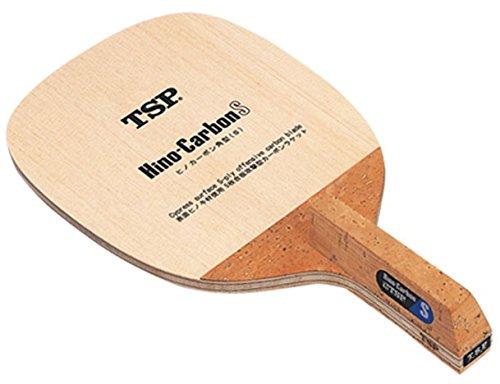 ティーエスピー(TSP) 卓球 日本式ペンラケット ヒノカーボンS(角型) 021311
