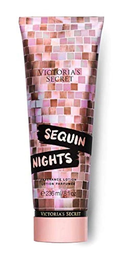 拷問マークされた探検VICTORIA'S SECRET Disco Nights Fragrance Lotion Sequin Nights