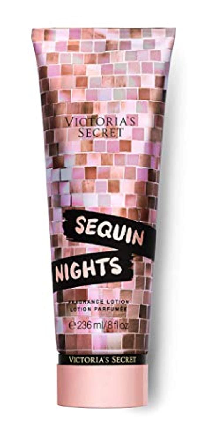 均等に驚き光沢VICTORIA'S SECRET Disco Nights Fragrance Lotion Sequin Nights