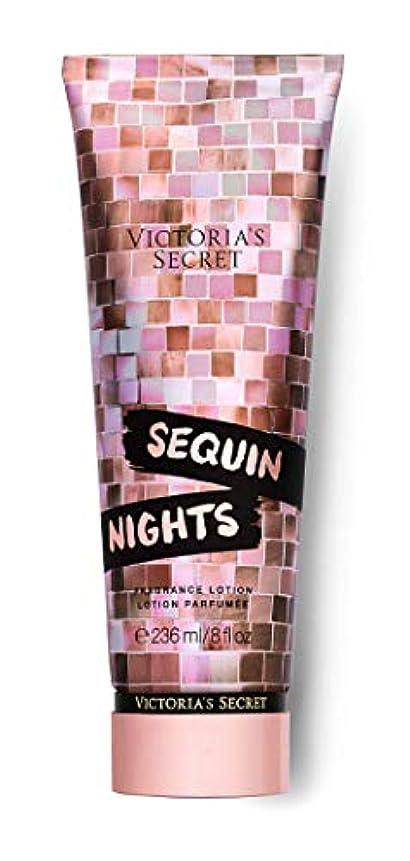 確立食堂なめらかなVICTORIA'S SECRET Disco Nights Fragrance Lotion Sequin Nights