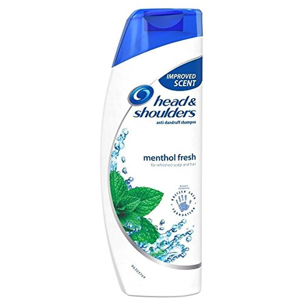 Head & Shoulders Anti Dandruff Shampoo - Cool Menthol (500ml) 頭と肩抗ふけシャンプー - クールメントール( 500ミリリットル) [並行輸入品]
