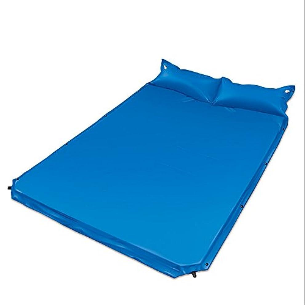 立ち向かうひねり北東二重自己膨脹可能なパッドの屋外のテントのキャンプおよび厚くなる枕膨脹可能なベッド