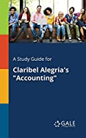 A Study Guide for Claribel Alegria's Accounting