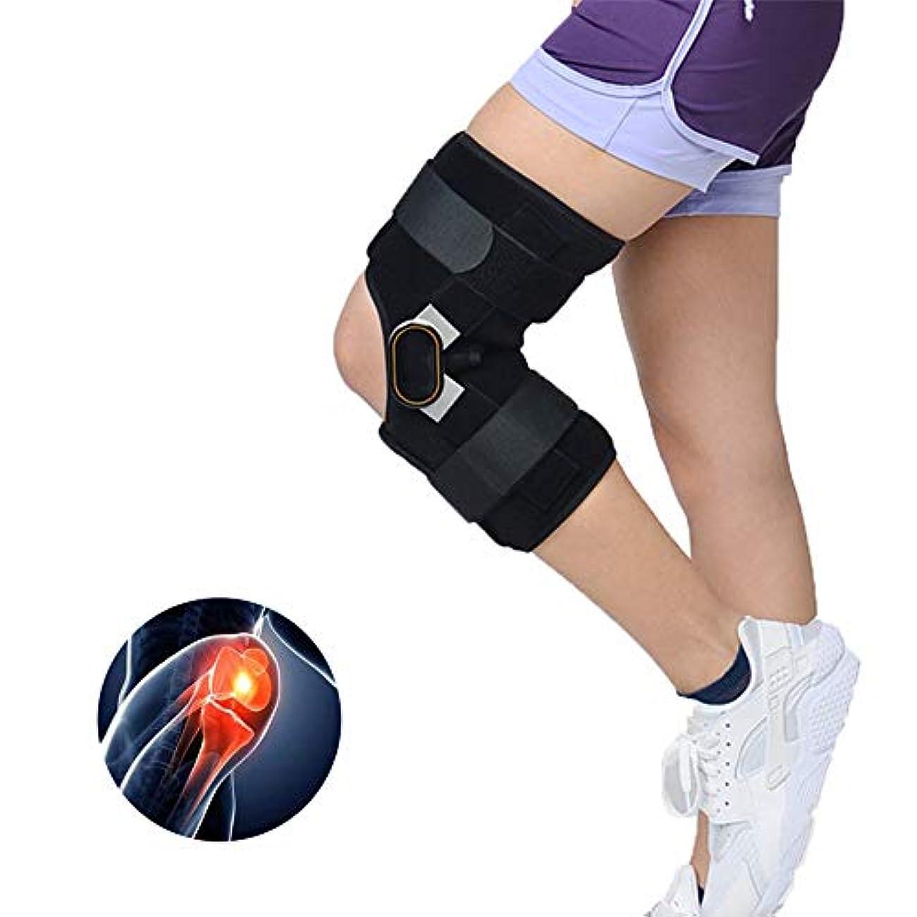 最後のマトリックス側溝調整可能な膝サポーター、痛みを軽減するための圧迫膝スリーブ、半月板裂傷、関節炎、ランニングに適して、サイクリング,M