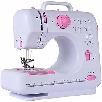 BestBuy 家庭用ミシン 電動ミシン 初心者向け ミシン 12パターン 縫い模様 フットペダル付き 日本語説明書付き