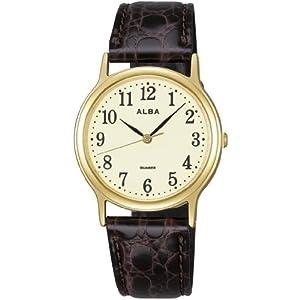 アルバ ALBA 腕時計 ペアモデル 全面ルミブライト AIGN003 メンズ