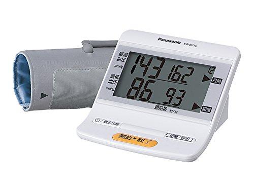 パナソニック 上腕血圧計 メモリ機能付(90回) ホワイト EW-BU16-W