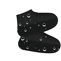 Silicone Reusable Overshoes,Waterproof Rain Boots Cover Cycling Shoe Covers Anti Slip Washable Shoe Covers Waterproof Rainshoes