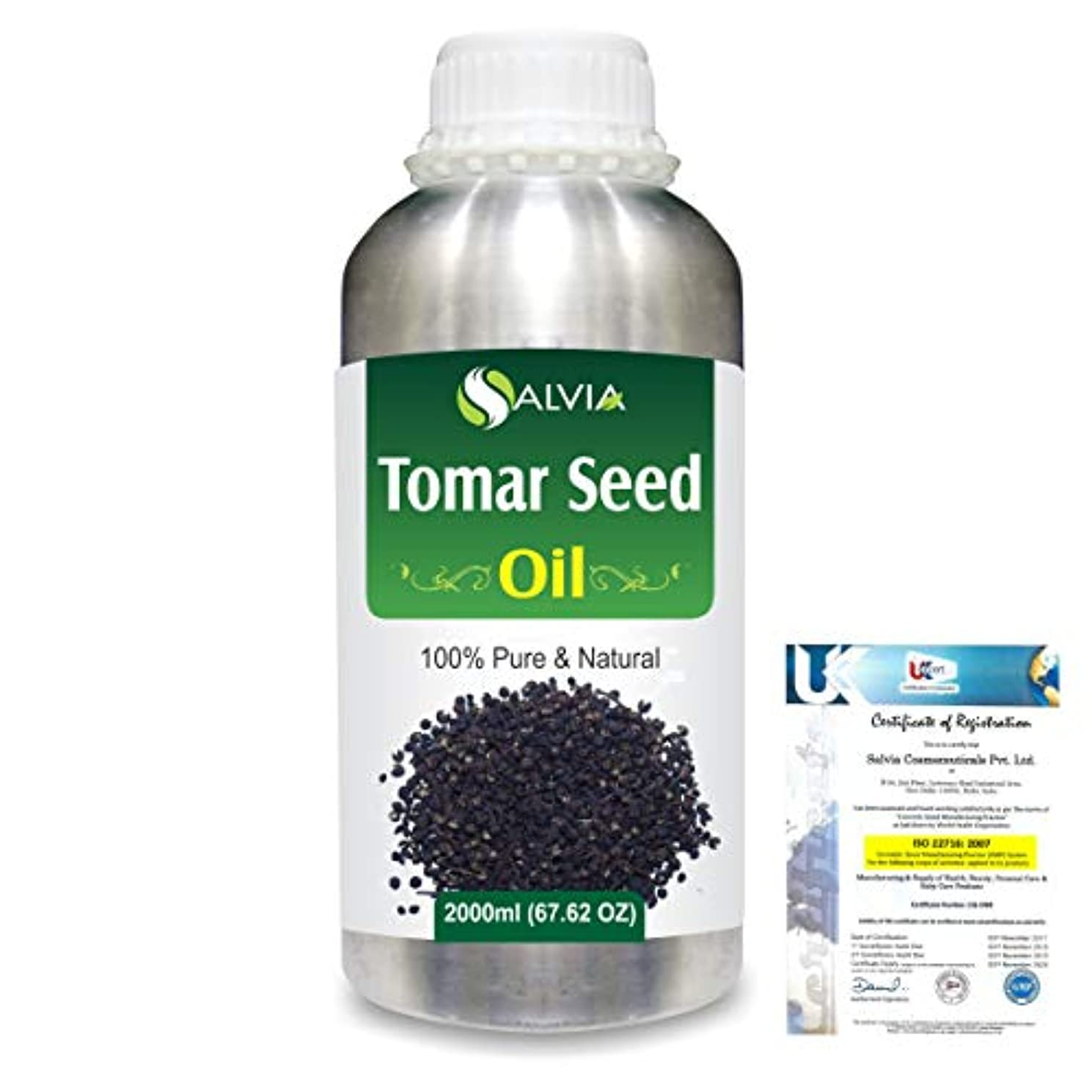 ミュウミュウエーカー居心地の良いTomar Seed (Zanthozylum armathum) 100% Natural Pure Essential Oil 2000ml/67 fl.oz.