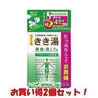 (バスクリン)きき湯 マグネシウム炭酸湯 つめかえ用 480g(医薬部外品)(お買い得2個セット)