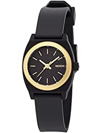 [ニクソン]NIXON SMALL TIME TELLER P: BLACK/GOLD ANO NA4252030-00 レディース 【正規輸入品】