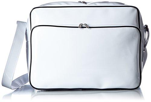 [プリントスター]バッグ カラ― エナメル バッグ 00773-CEB ホワイト Mサイズ
