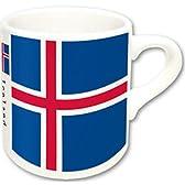 世界の国旗 マグカップ M (アイスランド)