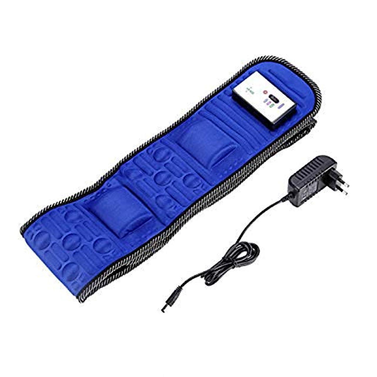ショルダー無意識自明Electric Body Vibrating Massager 5 Motors Slimming Belt Body Waist Leg Slimming Fat Burning Weight Losing Body...
