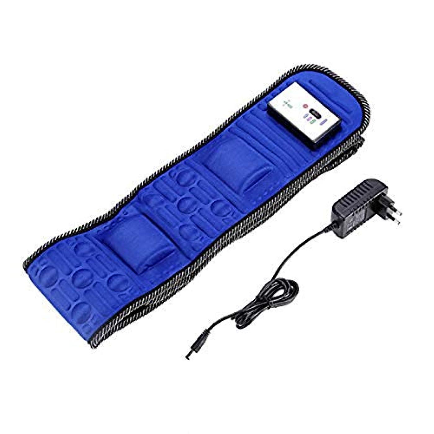 爆風防水部分的Electric Body Vibrating Massager 5 Motors Slimming Belt Body Waist Leg Slimming Fat Burning Weight Losing Body...