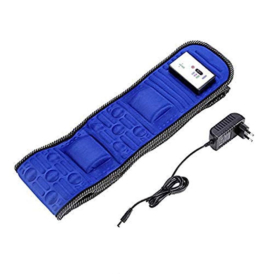 朝食を食べる合計提供するElectric Body Vibrating Massager 5 Motors Slimming Belt Body Waist Leg Slimming Fat Burning Weight Losing Body...
