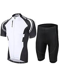 夏用 サイクリングジャージ 半袖 上下セットx17ss01
