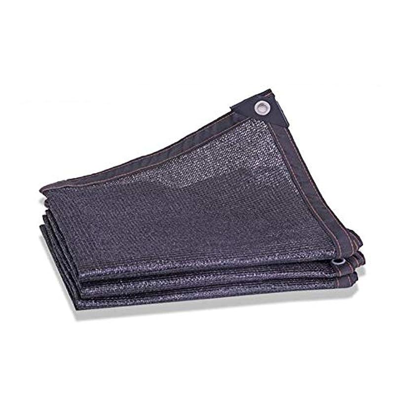 引き金質量公平ZX タープ シェーディングネット ブラックサンメッシュ シェーディング率80% UV耐性 グロメット 温室 フラワーズ 植物 パティオ芝生 タープ バルコニー テント アウトドア (Color : Black, Size : 4X8M)