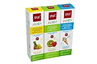 Natural Fluoride Free Kids Firming Toothpaste Splat Juicy with Calcium Hydroxyapatite 35ml 3pcs in Set