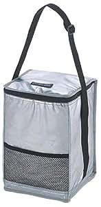 キャプテンスタッグ 保冷バッグ 【容量10L/折りたたみ可】デリス シルバー ソフトクーラー M-1853