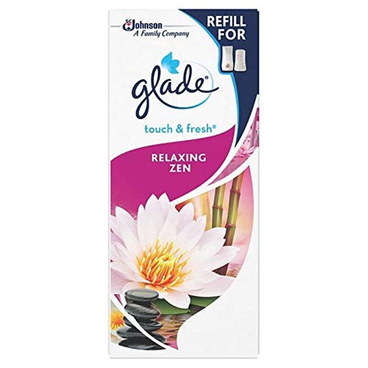 観客資格情報契約する[Glade] 空き地のタッチは、禅のリフィルを緩和します - Glade Touch Relaxing Zen Refill [並行輸入品]